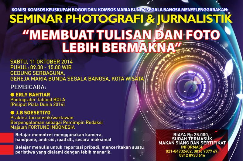 Fotografi & Pelatihan Jurnalistik