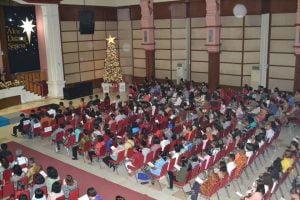 Suasana Natal Umat Kristianai Depok 10 Jan 2015