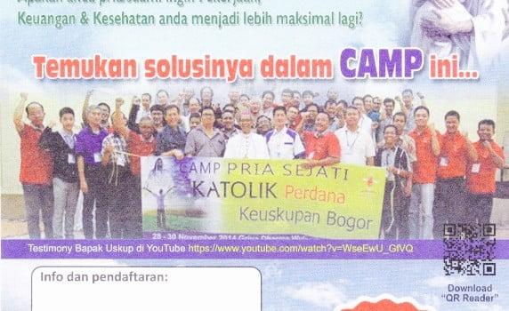 Camp Pria Sejati Keuskupan Bogor
