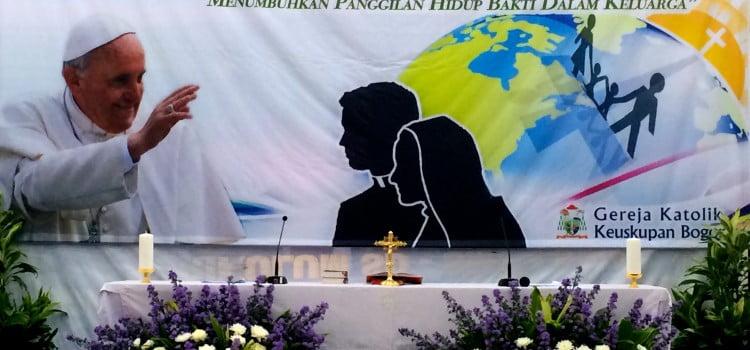 Pembukaan Tahun Hidup Bakti Keuskupan Bogor