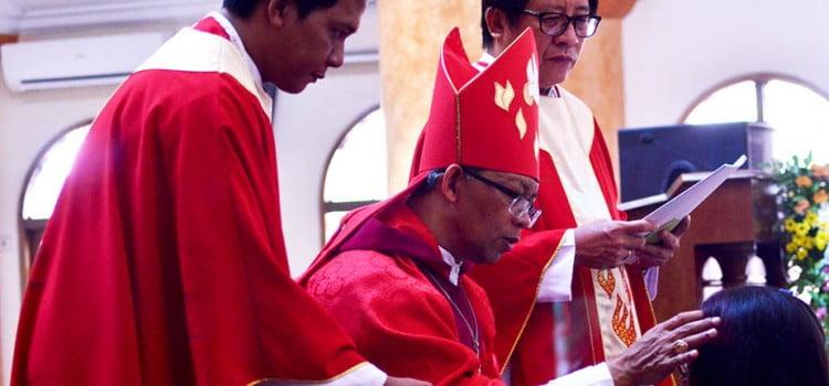 Penerimaan Sakramen Penguatan Paroki Santo Thomas Kelapa Dua-Depok