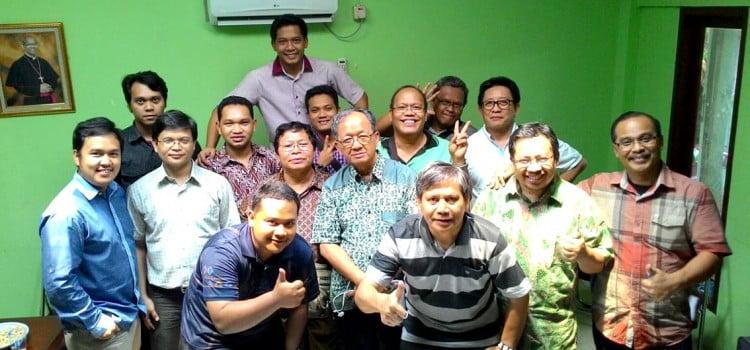 Pertemuan Dekanat Utara: Saling menguatkan dan Saling Meneguhkan Panggilan