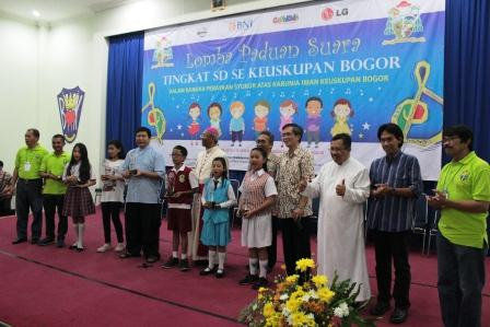 Perayaan Syukur Atas Karunia Iman Keuskupan Bogor : Anak Pemberita Sabda Tuhan