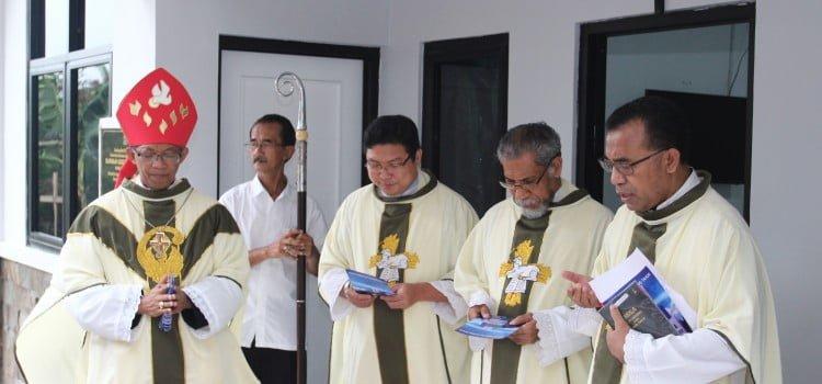 Mgr. Paskalis Merayakan Misa Hari Raya Yesus Kristus Raja Semesta Alam di IPSC, Sentul