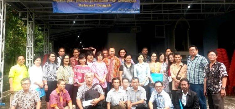 Reportase Kegiatan PSE Keuskupan di Dekanat Tengah dan Dekanat Utara
