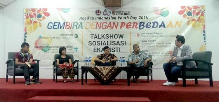 Gembira Dengan Perbedaan : Road to Indonesian Youth Day 2016