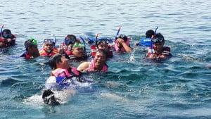 Snorkeling untuk menikmati dunia bawah laut