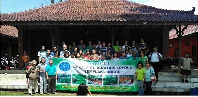 Peringatan Hari Bumi PSE Paroki St. Ignatius Loyola, Semplak