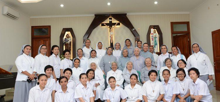Pemberkatan Biara FMM Serang dan Ulang Tahun Imamat RD. Stefanus Maria Sumardiyo Adipranoto