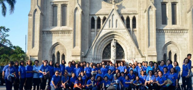 Ziarah Rohani 9 Gereja Wanita Katolik Republik Indonesia DPD Keuskupan Bogor