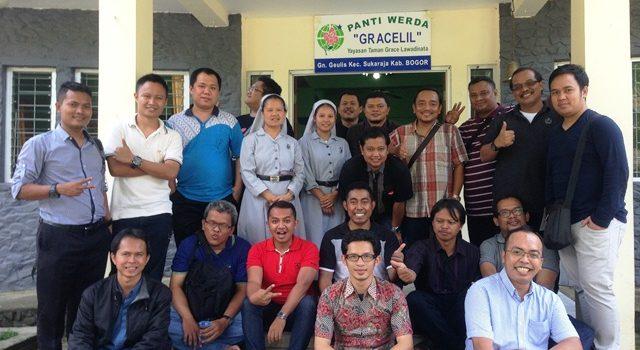 Pertemuan  BIM (Bina Imam Muda)  dengan Oma-Opa dan Korban Narkoba