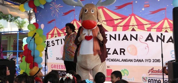 Festival Kesenian Anak & Bazzar Dalam Rangka Penggalangan Dana IYD 2016 Manado