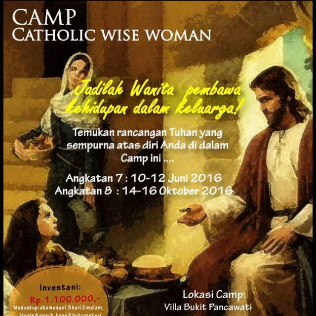 Camp Catholic Wise Woman