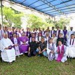 Misa Arwah UNIO Keuskupan Bogor di TPU Kalimulya