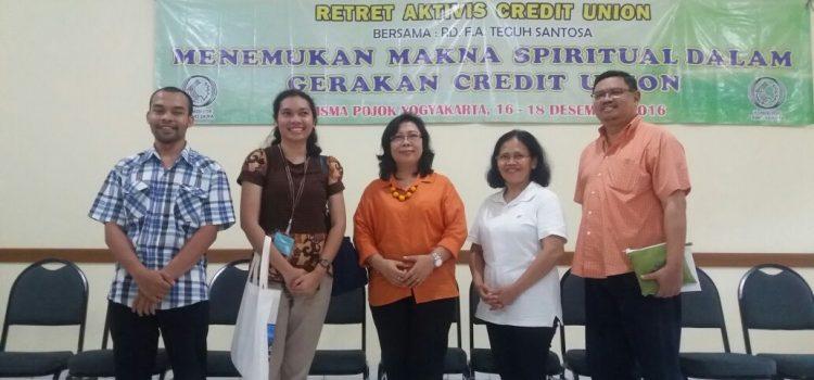 Retret Ketua Komisi PSE dan Para Aktivis Credit Union