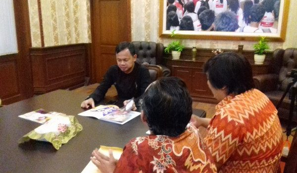 Walikota Bogor Dukung Festival KOMSOS 2017
