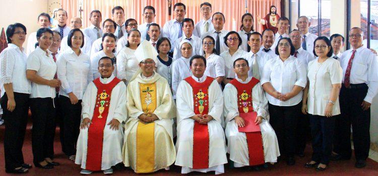 Pelantikan Pengurus Baru DPP, DKP & PGMBK Paroki St. Maria Tak Bernoda Rangkasbitung Masa Bakti 2017-2020