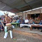 Foto Perayaan Syukur 50 tahun Tahbisan Presbiterat Mgr. Michael Cosmas Angkur, OFM di Lewur, NTT