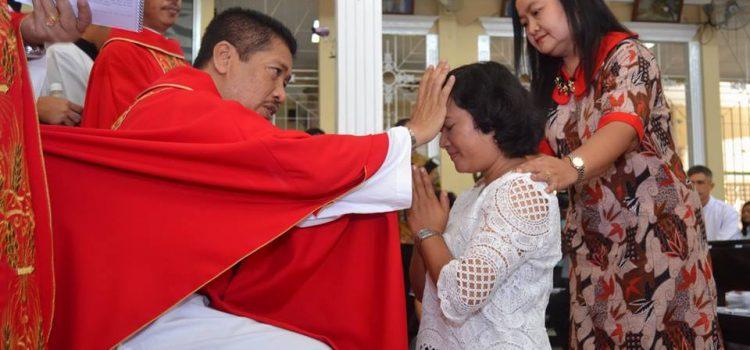 Penutupan Perayaan Paskah Paroki Kristus Raja – Serang
