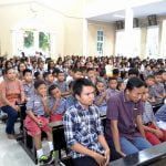 Misa Pembukaan Tahun Ajaran Baru Tahun 2017-2018 di Gereja Kristus Raja Serang