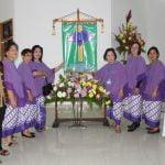 Pelantikan Komunitas St. Monika (warakawuri) Paroki Santa Maria  Para Malaikat Cipanas