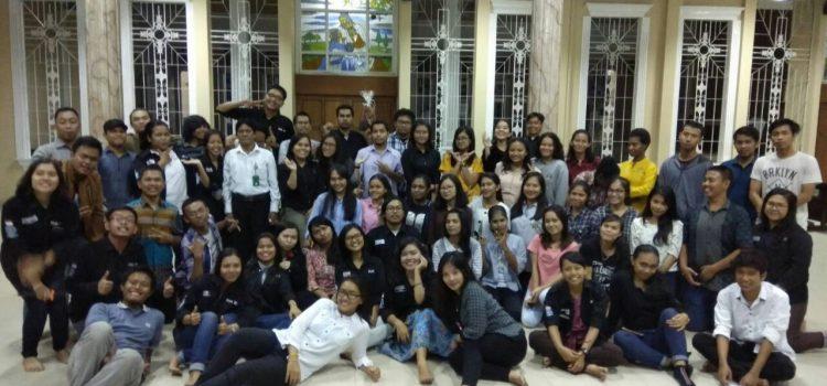 Penerimaan Mahasiswa Baru Dalam Keluarga Mahasiswa Katolik Paroki Kristus Raja – Serang