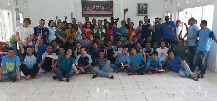 Kunjungan Paroki Santo Matias Cinere ke Lapas Gunung Sindur