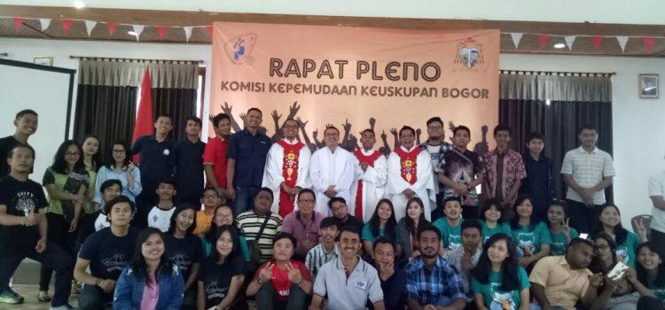 Rapat Pleno Komisi Kepemudaan Keuskupan Bogor