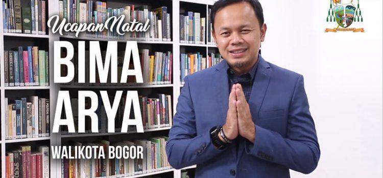 Ucapan Natal 2017 dari Bima Arya Sugiarto (Wali Kota Bogor)