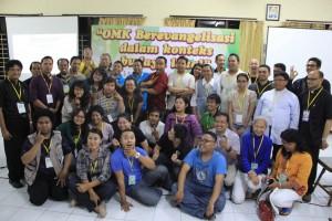 Temu Moderatores (Temod) Orang Muda Katolik (OMK) Regio Jawa